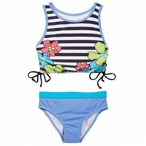 NWT Tankini 2-Piece Set Swimsuit Size 5